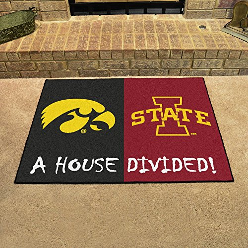 - FANMATS NCAA House Divided Nylon Face House Divided Rug