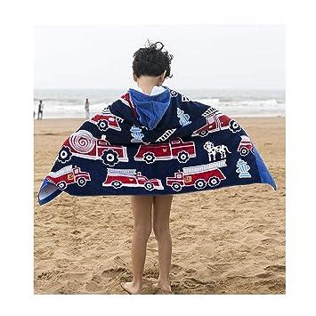 ASeeker Kids Hooded Beach Bath Towel 76 127cm LW Childrens Bath Towels 100/% Cotton Cover-Ups