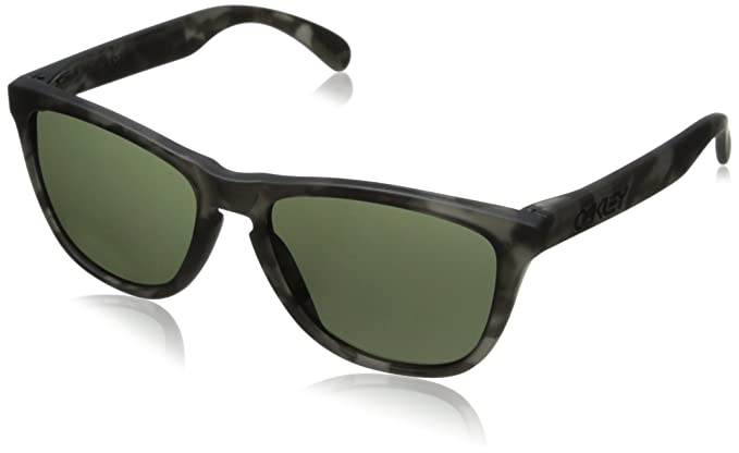 58eaf34510 Oakley Frogskins OO9013 24 41555 Matte Black Tortoise Grey Sunglasses -  size One Size  Amazon.co.uk  Clothing