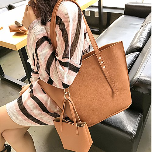 showsing Marrón Bolso Negro Backpacks Small para al Mujer Hombro PrP8qwF
