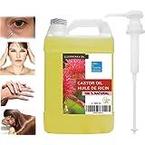 Aceite de Ricino Puro Natural 1000 ml - Castor Oil - Aceite de Belleza Anti bolsas