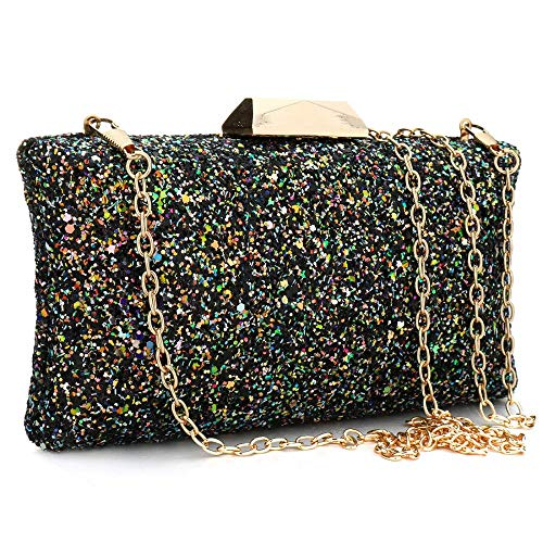 Champagne Bag Fashion Clutch Evening Women Clutch Bag Bag Clutch Evening Sequins Purse Handbags WF7BwqRnHx