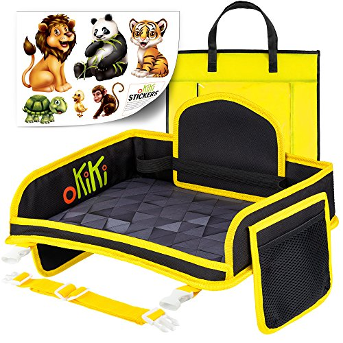 Kids Travel Tray including Carry Bag & 6 Stickers Bundle