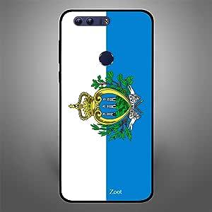 Huawei Honor 8 San Marino Flag, Zoot Designer Phone Covers