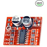 Diymore 10Pcs Mini Dual Channel DC1.5A Motor Driver Module Beyond L298N PWM Speed Control