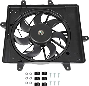 ECCPP Radiator AC Condenser Cooling Fan Replacement fit for 2001-2008 Chrysler PT Cruiser 2.4L