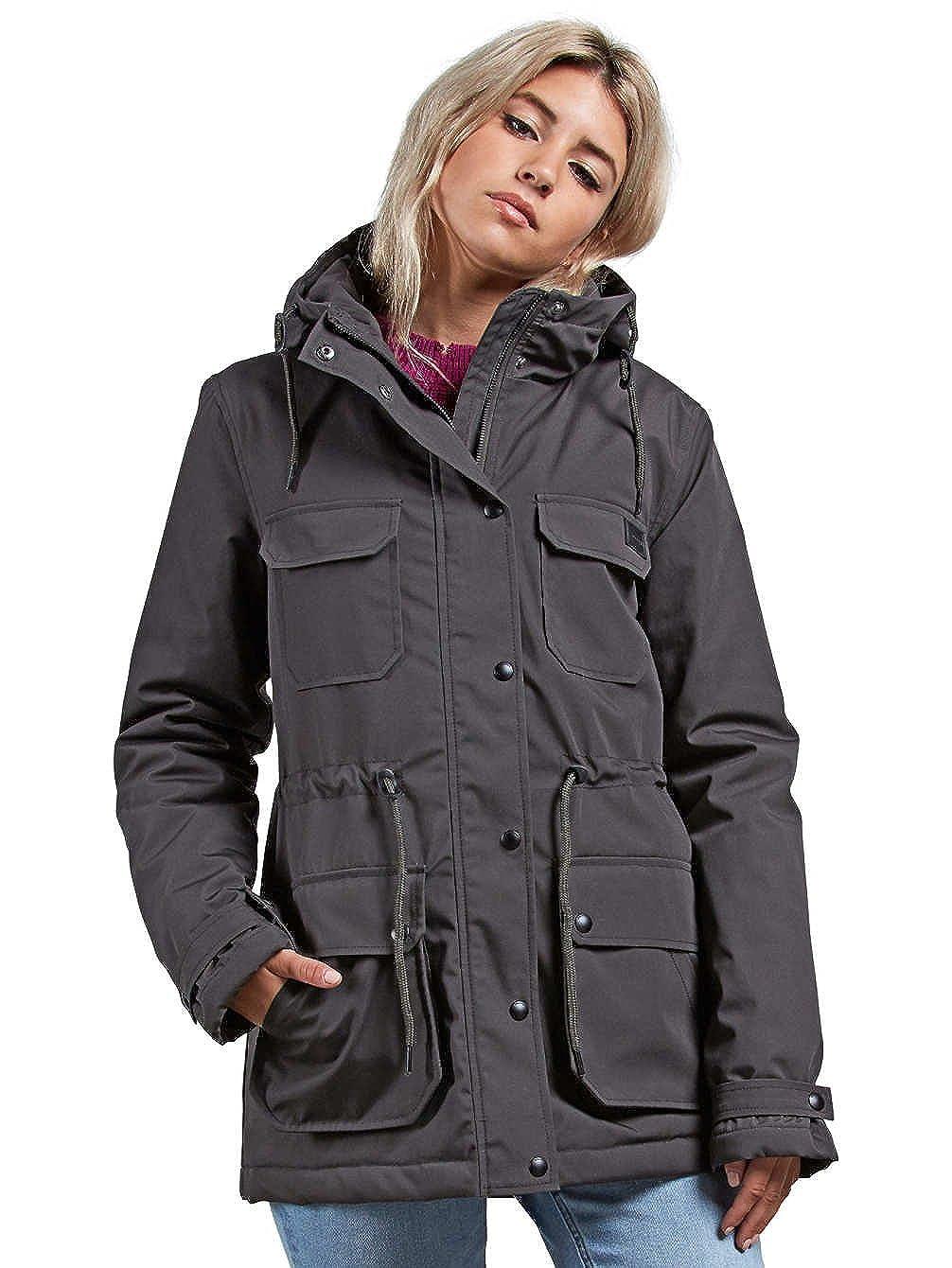 Volcom Dark Grey Venson Womens Jacket