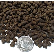 "Aquatic Foods Inc. Rangen 3/16"" Salmon Pellets, Soft Moist Sinking Pellets for Axolotls, Shrimp & All Fish 1-lb"