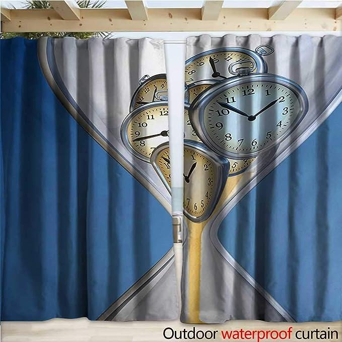 warmfamily - Reloj de Pared (274 x 96), diseño de pérgola con Copos de Nieve y Motivos navideños: Amazon.es: Jardín