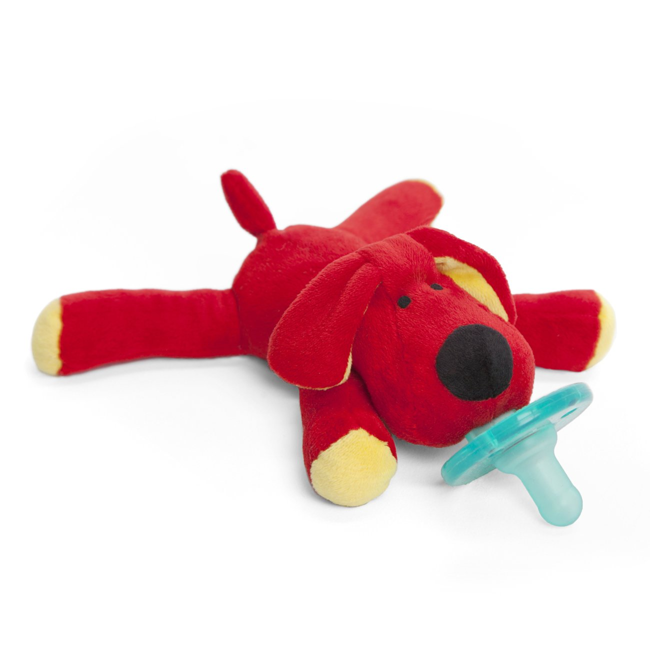 WubbaNub Infant Pacifier Red Dog