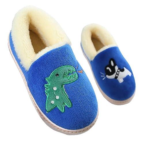 f2ea3caeecd Gaatpot Zapatillas de Estar por Casa para Niñas Niños Invierno Interior  Caliente Suave Antideslizante Dibujos Animados Dinosaurio Zapatos:  Amazon.es: ...