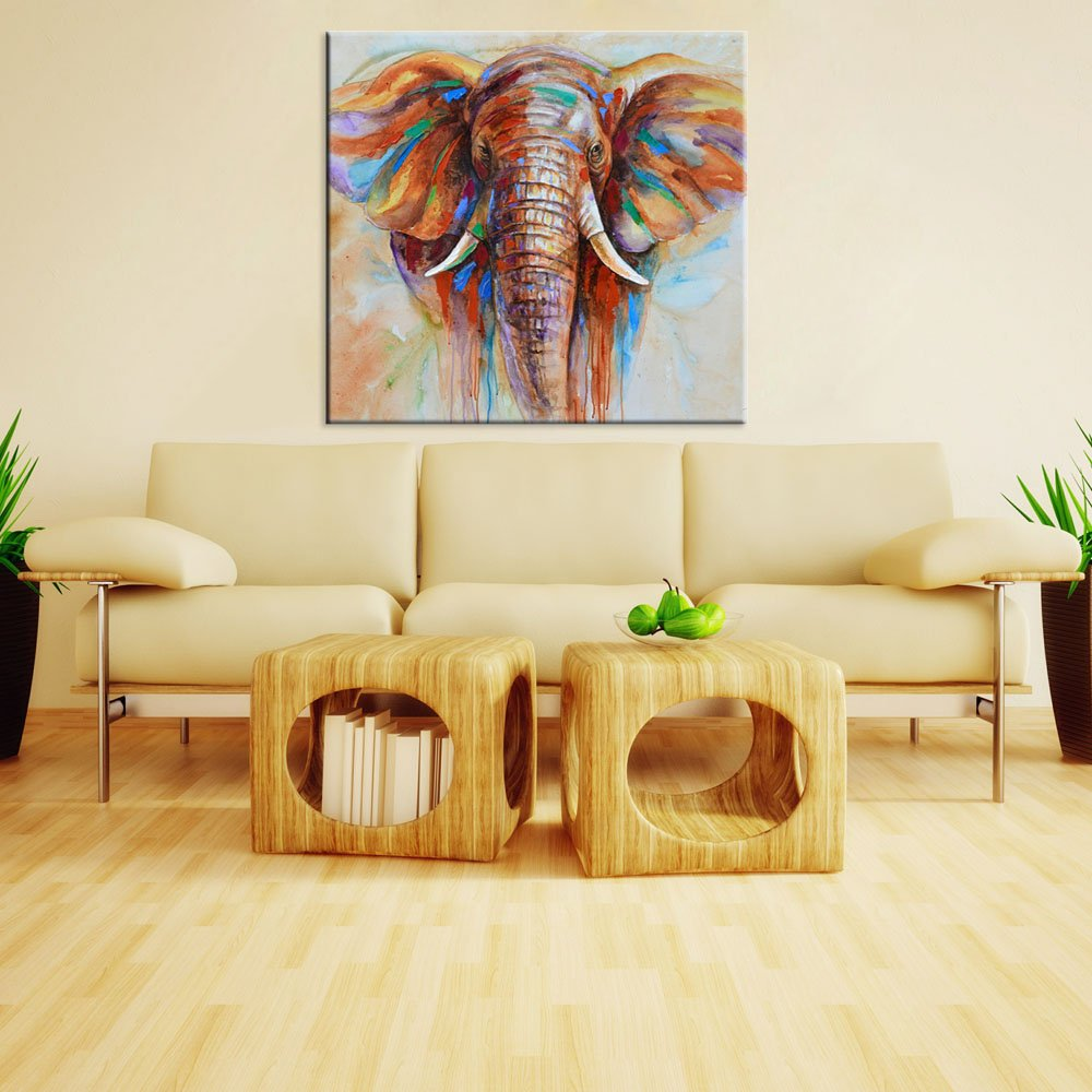 Amazon.com: Decdeal Wall Decoration Paintings Hand Painted ...