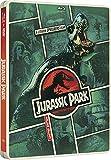 Jurassic World Steelbook + Jurassic Park Steelbook DVD Blu Ray Special Exclusive Dinosaur Adventure Set