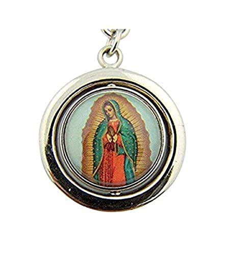 Religious Gifts Mens Womens Catholic Gift Two Sided Sacred Heart Jesus  Christ with Spanish Icon Our 6c57d061f1