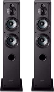 Sony SS-CS3 3-Way 4-Driver Floor-Standing Speaker - Pair (Black)