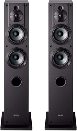 Sony SS-CS3 3-Way 4-Driver Floor-Standing Speaker – Pair Black