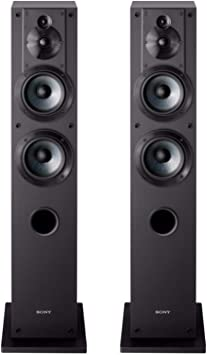 Amazon Com Sony Ss Cs3 3 Way 4 Driver Floor Standing Speaker Pair Black Electronics