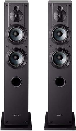Amazon.com: Sony SS-CS3 3-Way 4-Driver Floor-Standing Speaker - Pair (Black): Electronics