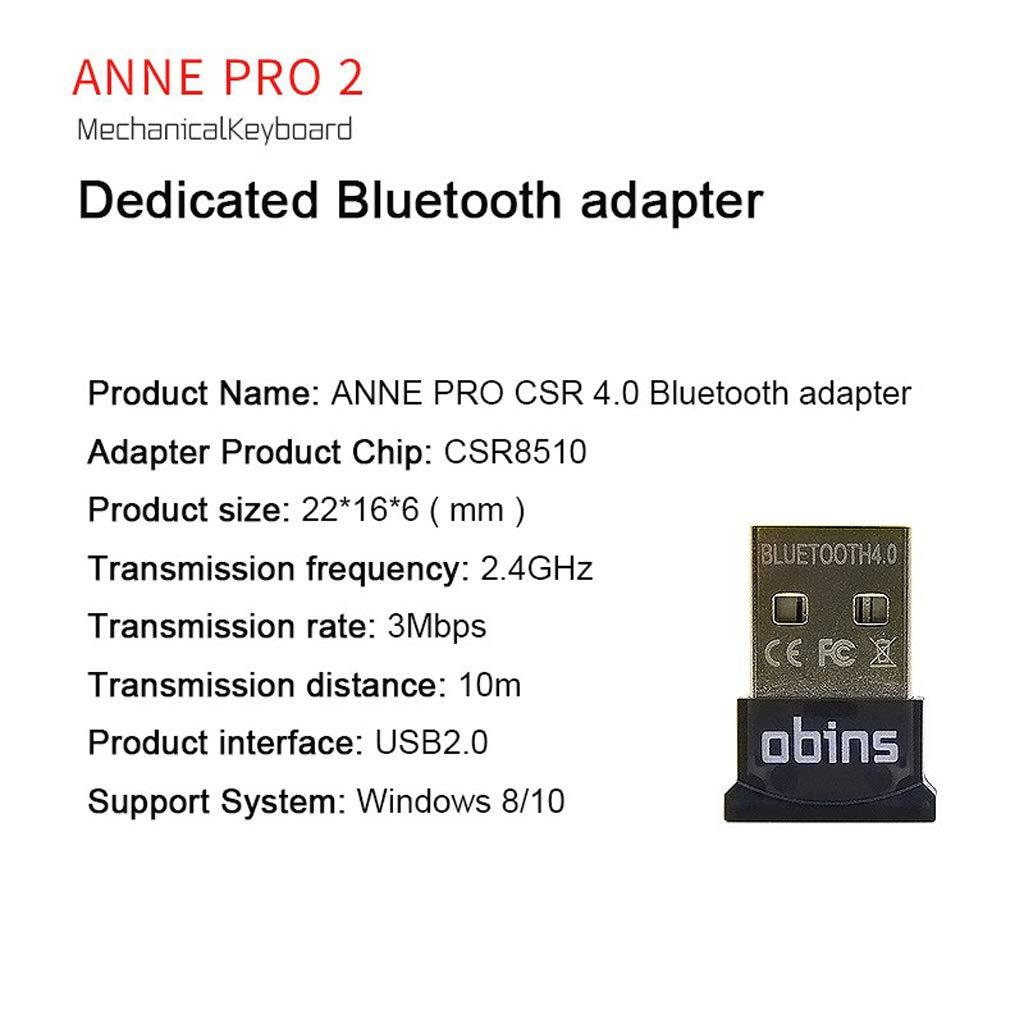 CUCUDAI Anne PRO 2 Bluetooth Adapter CSR 4.0 Mechanical Keyboard ...