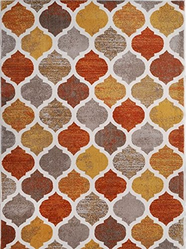 Home Dynamix HD5012-731 Tremont Collection Area Rug, 5'3