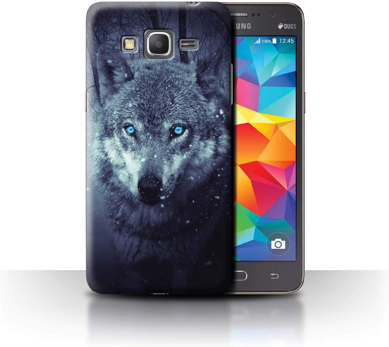 Coque pour Samsung Galaxy Grand Prime Loup Prédateur Animal ...