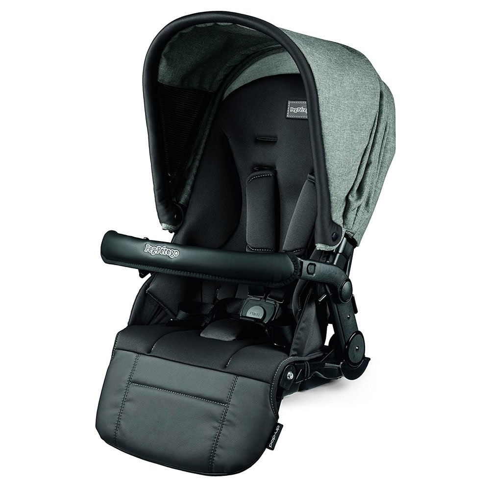 Peg Perego Triplette Piroet Pop-Up Seats and Primo Viaggio 4/35 Infant Car Seat Stroller with Diaper Bag - Atmosphere by Peg Perego (Image #5)