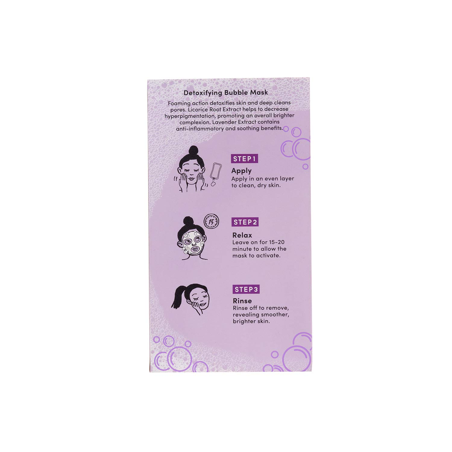 Julep Break out the Bubbly Detoxifying Foaming Facial Cleansing Bubble Masks Duo, Pink: Beauty