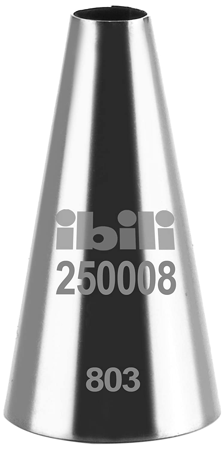 Ibili Piping Nozzle Round, Silver, 0.5/17 mm 250000