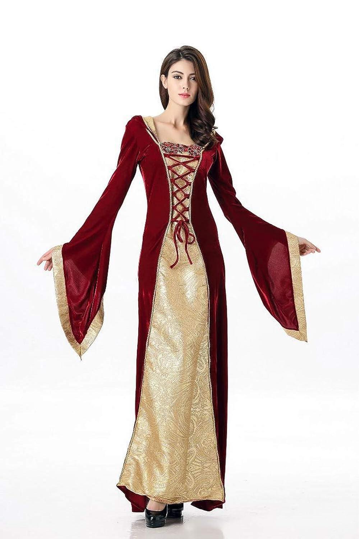 Amazon.com: XSQR Halloween Encapuchado Retro Rojo Falda ...
