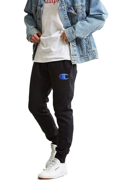 a92c74a7df1 Champion Life Men s Reverse Weave Jogger Pants (Black Big C Chenille Logo