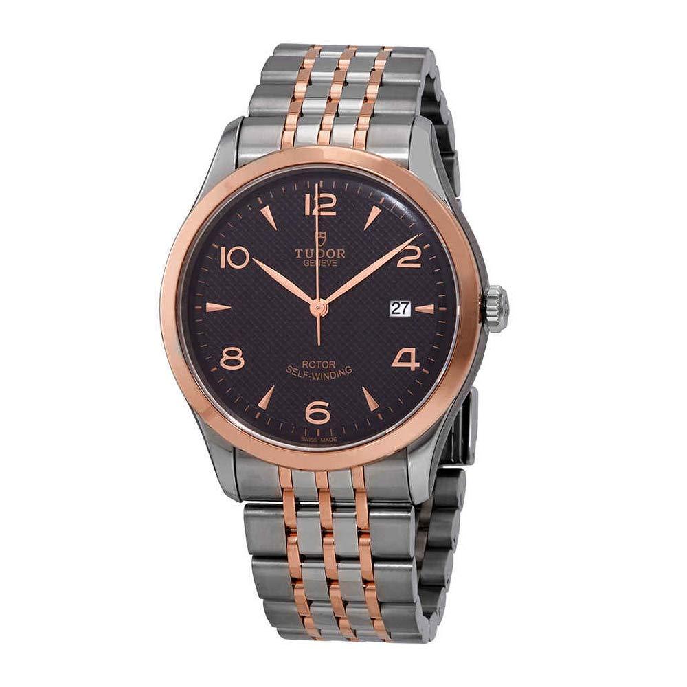 Tudor 1926 Black Dial Automatic Men's Two-Tone Watch M91651-0003