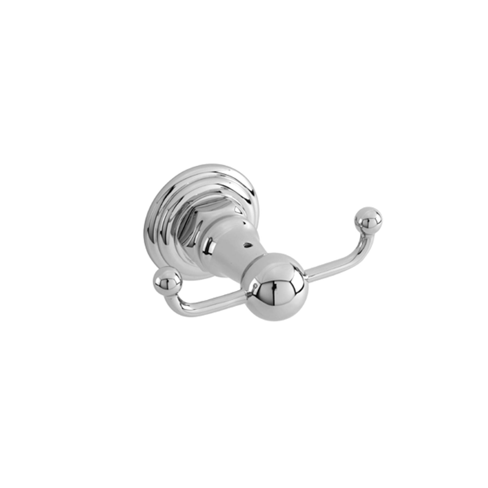 Newport Brass 13-13 Fairfield Wall-Mounted Double Robe Hook, Polished Chrome