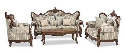 Durian Atticus Six Seater Sofa Set