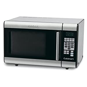 Cuisinart Conair KV0245 1000W Stainless Steel Counter Top Microwave Oven