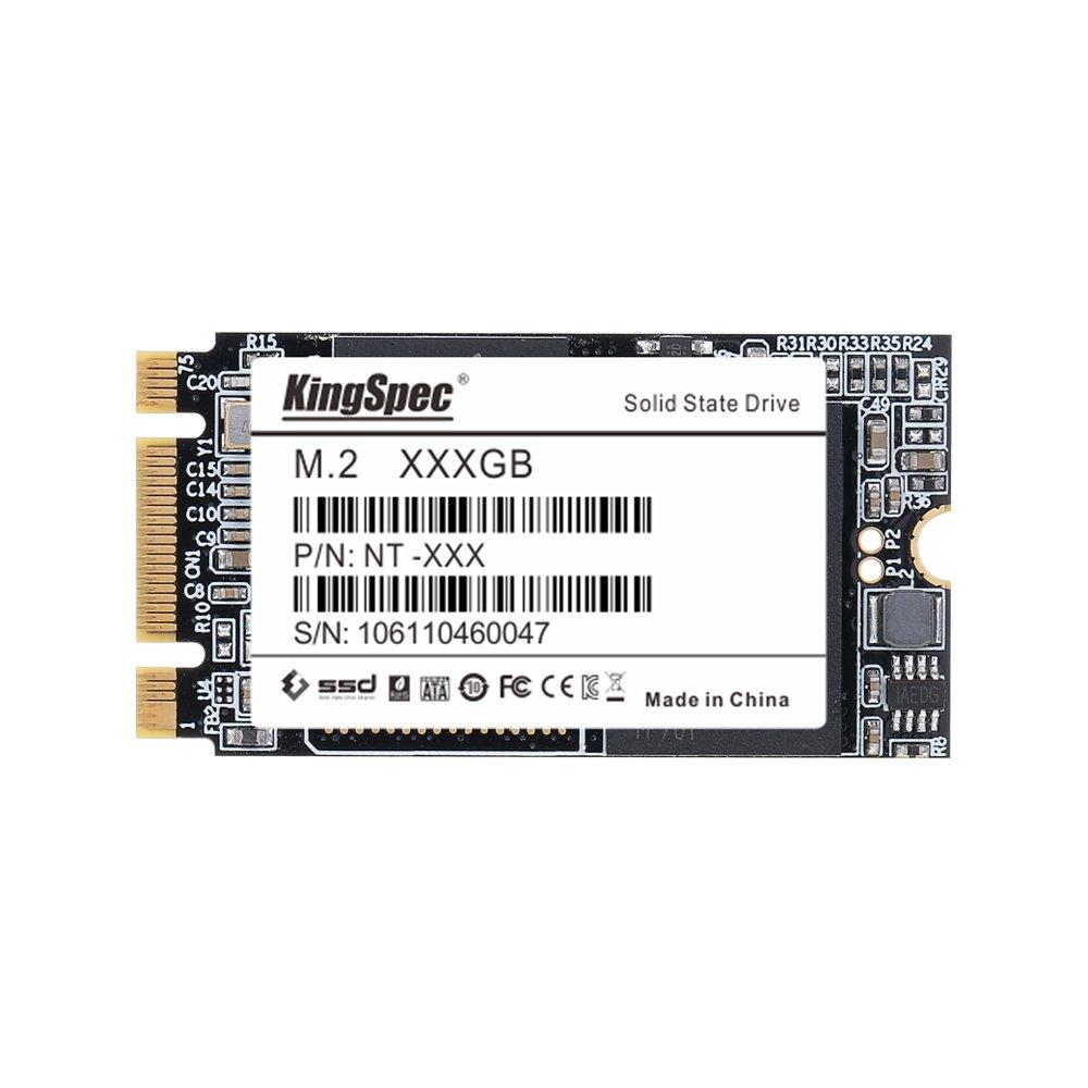 KingSpec NT 2242 256GB SATA M.2 NGFF Internal Solid State Drive (256GB) by Kezoll