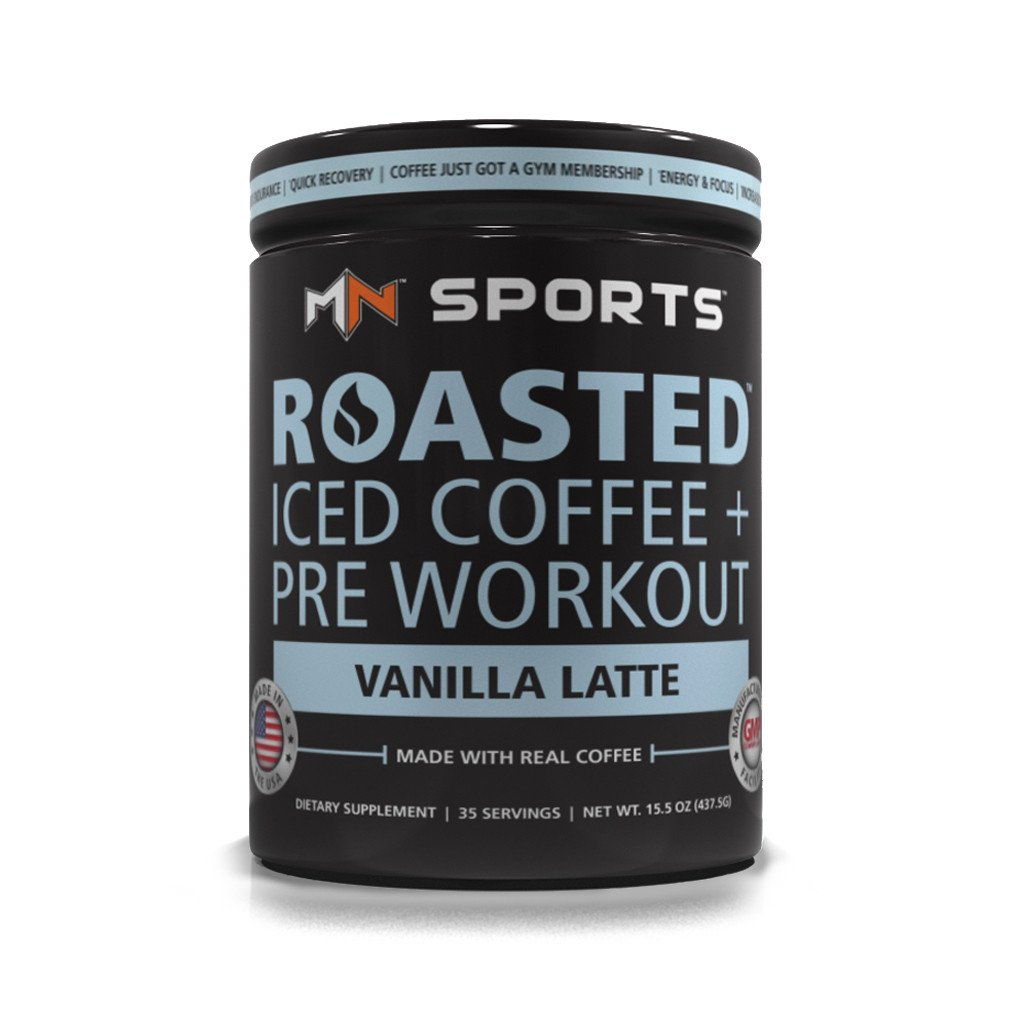 Roasted Iced Coffee Pre Workout Vanilla Latte