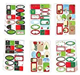 Holiday Gift Supplies Over 450 Christmas Holiday Gift Labels Self Adhesive, Mark To & From on All Your Gifts