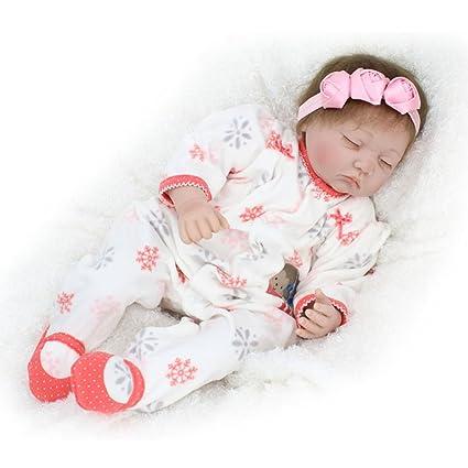 Muñecas recién nacidos que parecen reales vinilo suave para dormir ...