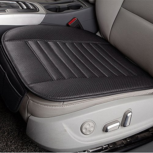 PU Leather Bamboo Charcoal Car Interior Seat Cover Cushion Pad for Auto Chair by DSstyle