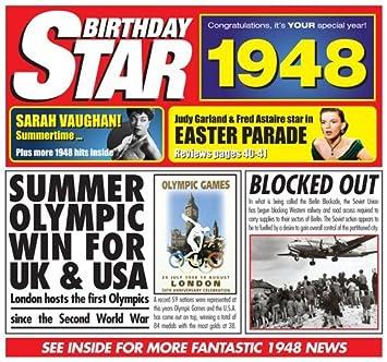 1948 Geburtstags Geschenke   1948 Chart Hits CD und 1948