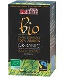Molinari - - Café Expresso en Dosette ESE : Molinari BIO Equitable 100% Arabica - Boîte de 18