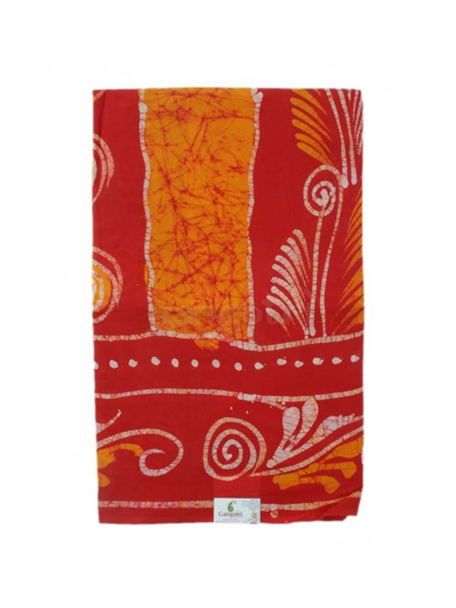 Saree Batik Print Indian Handicrafts Export WSBPGGG3-Purple