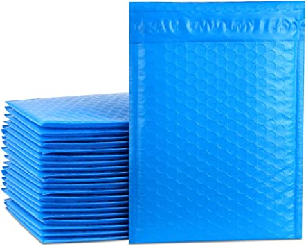 100 pcs #000 Poly Bubble Padded Envelopes Self-Sealing Mailers 4X8 Inner 4x7
