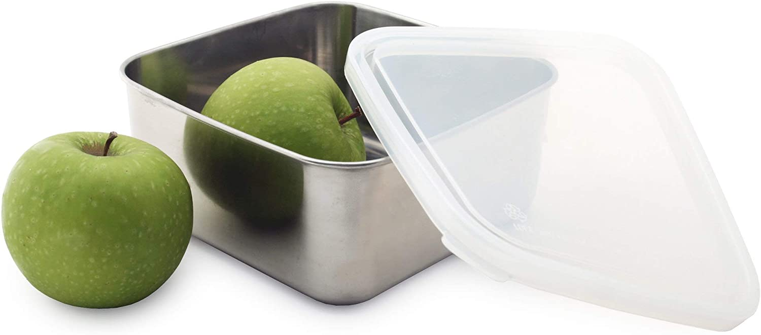 U-Konserve To-Go Large Stainless Steel Container 50oz - Clear