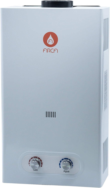 Calentador Atmosferico a Gas Butano 10 Litros ARCA | Encendido Automático | Gas LPG, Propano-Butano