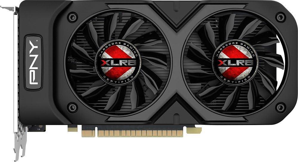 Pny Geforce Gtx 1050 Ti Xlr8 Oc Dvi Displayport Hdmi Pci Express 3 0 X16 Vcggtx1050t4xgpb Oc Bb Gaming Grafikkarte 4 Gb Computer Zubehör