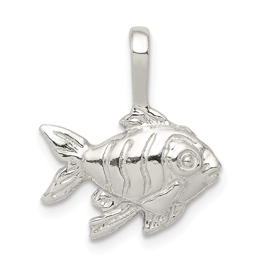 Beautiful Sterling silver 925 sterling Sterling Silver Fish Charm