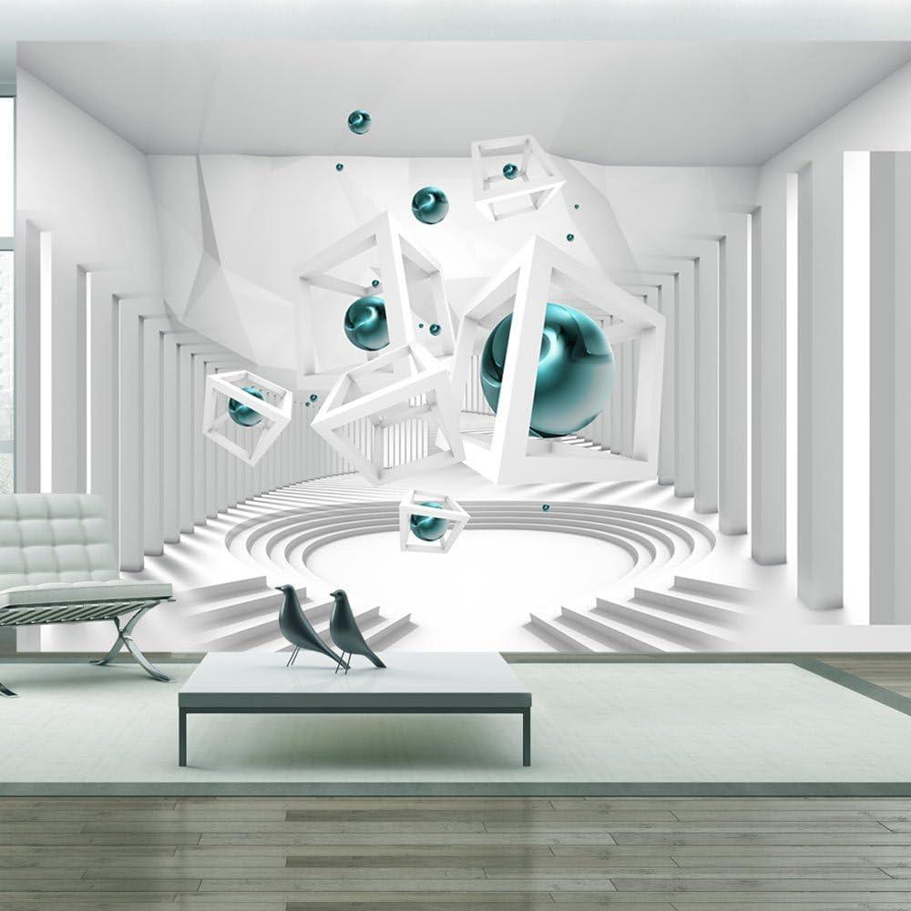 murando Papier peint intiss/é 100x70 cm D/écoration Murale XXL Poster Tableaux Muraux Tapisserie Photo Trompe loeil abstraction 3D a-A-0173-a-b