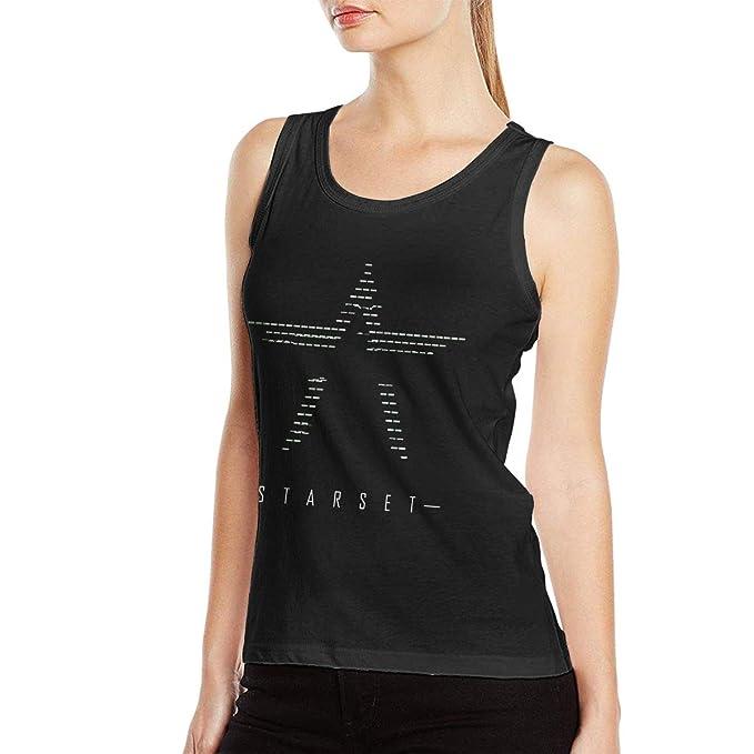 Amazon.com: BrianSmith Starset - Camiseta de yoga para mujer ...