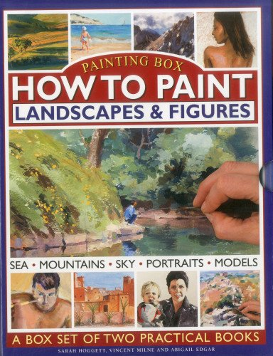 How To Paint:  Landscapes & Figures: A Painting Box Set of Two Hardback Books